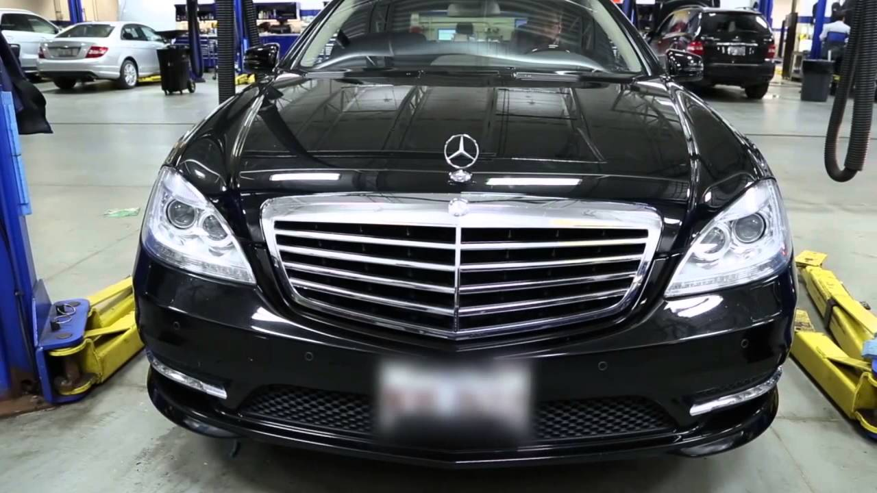 A and b services mw mercedes benz of hoffman estates for Mercedes benz motor werks