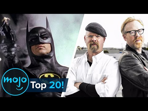 Top 20 Movies Ruined by The Mythbusters