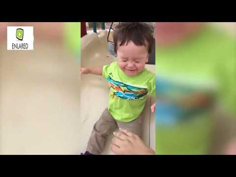 Videos chistosos niños vs resbaladillas
