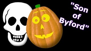 Son of Byford - Singing Pumpkins Halloween light show 2012