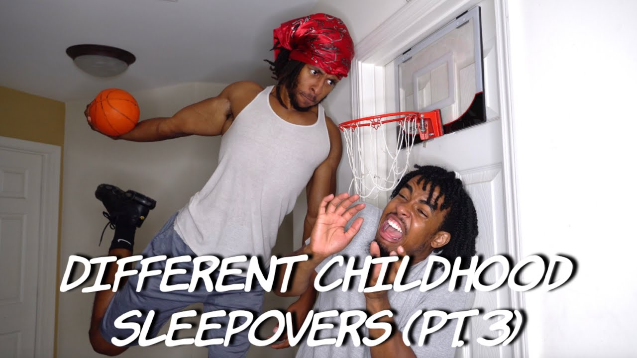 Different Childhood Sleepovers (pt.3) | Dtay Known