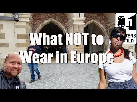 Thumbnail: 5 Things American Tourists Shouldn't Wear in Europe