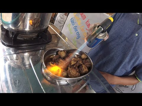Indonesia Jakarta Street Food 1999 Part.1 Grilled Oxtail Buntut Bakar Kopi Kung Fu YDXJ0245