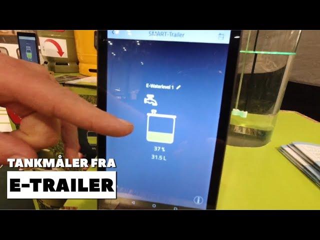 Vandmåler fra E-trailer