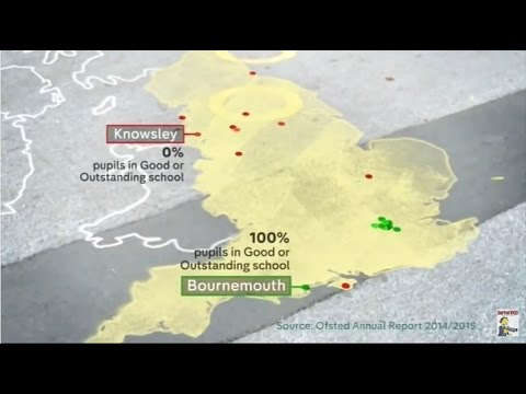 A new North-South divide in British education