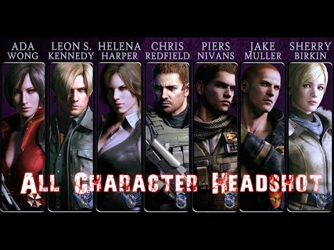 Resident Evil 6 Survivors Sobreviventes All Characters