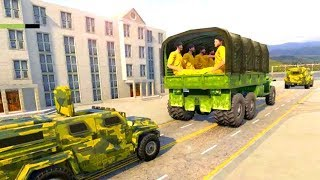 US Army Prisoner Transport : Criminal Transporter Android Game