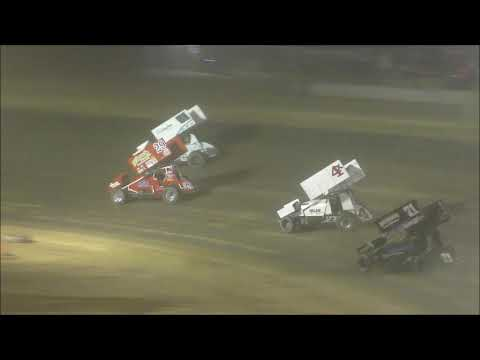 Ohio Valley Sprint Car Association Feature from Atomic Speedway, July 13th, 2019.
