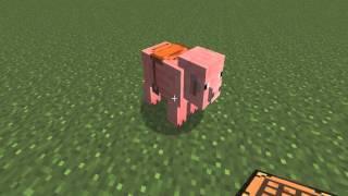 Как оседлать свинью в Minecraft
