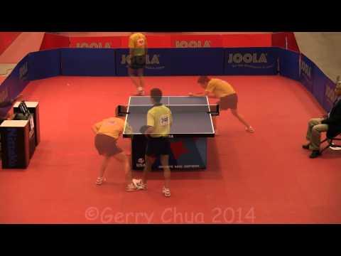 Eugene Wang vs Kentaro Miuchi  Mens Singles 8s