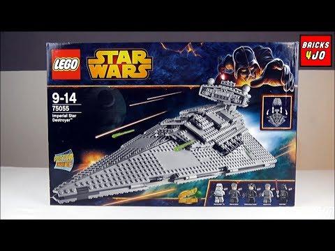 LEGO 75055 Star Wars Imperial Star Destroyer - Review deutsch -