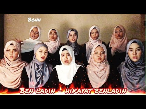 Hikayat Ben Ladin (Mashed up - Jangan Bersedih Brader) Acapella Version By Bahiyya Haneesa