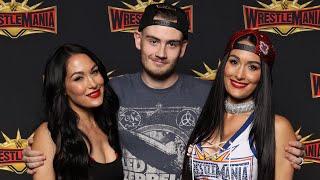 Meeting The Bella Twins!! | WM Vlog #82