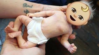 Tiny Micro Reborn Baby Unboxing!