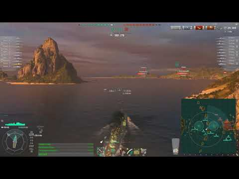 World of Warships - Pillow fight