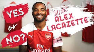 Alexandre Lacazette answers questions on Auba, gaming, tattoos and more...