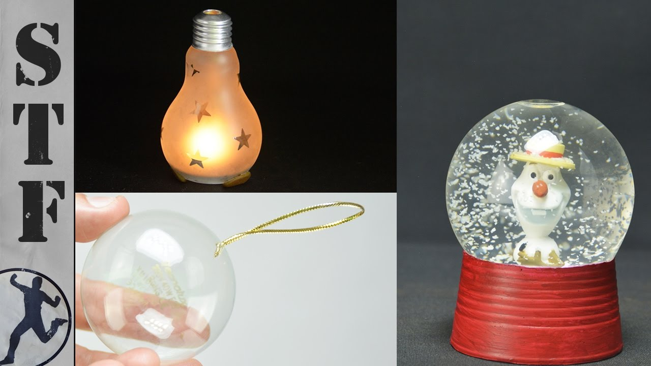 Uncategorized How To Decorate Light Bulbs 3 diy christmas decorations made from light bulbs youtube bulbs