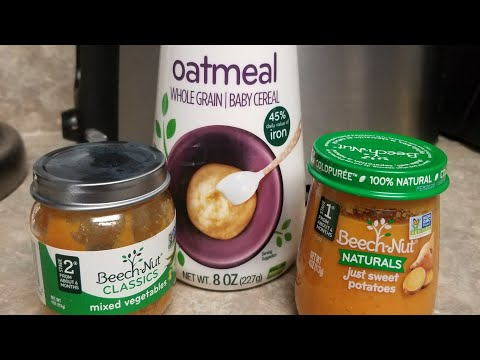 Beech nut baby food review