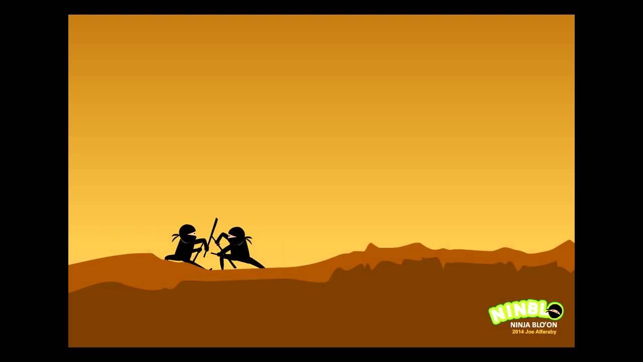 Animasi Flash Ninja Bertarung