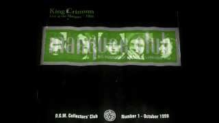 KING CRIMSON - DROP IN - LIVE AT THE MARQUEE 1969