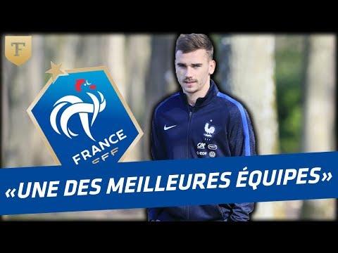 """Antoine Griezmann sur l'Euro 2016 """"On a peut être l'une des meilleures équipes d'Europe"""""""