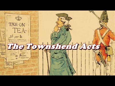 History Brief: The Townshend Acts Explained