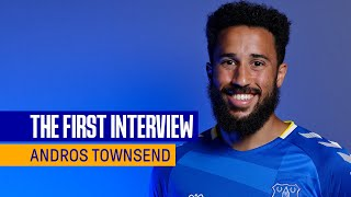 ANDROS TOWNSEND SIGNS FOR EVERTON   FIRST INTERVIEW WITH NEW BLUES WINGER