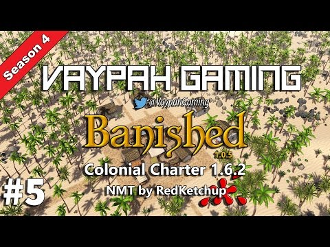 Banished Colonial Charter 1.62   First Market Area   Part 5 ► Season 4 (Gameplay)