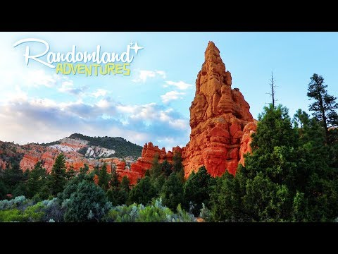 The Real Big Thunder Mountain - Roadside wonders and terrifying snacks in Utah!
