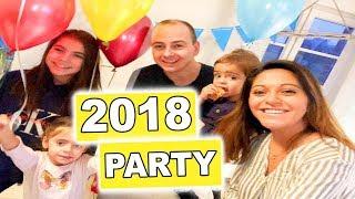 ROSISLIFE SILVESTER 2018 - Familien Vlog - #Vlog1084