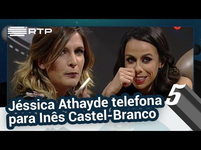 Jéssica Athayde telefona para Inês Castel-Branco - 5 Para a Meia-Noite