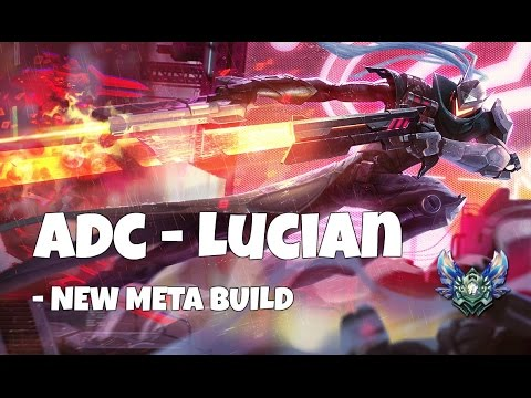 [7.5]League of Legends - ADC Lucian - new meta build