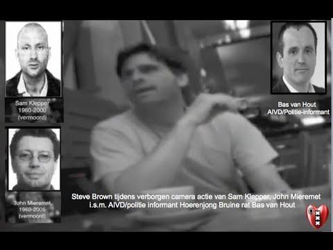 Amsterdamse Onderwereld Verborgen Camera Actie van Sam Klepper en John Mieremet tegen Steven Brown.