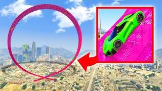 Make This MEGA LOOP To FINISH! (GTA 5 Skill Test)