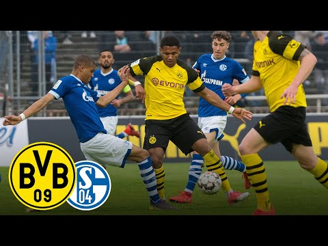 Derby Win for the Final! | BVB vs. FC Schalke 04 2-0 | Full Game | Under 19's Semi-Final
