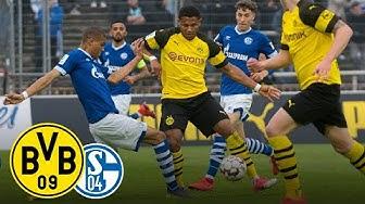 Derby Win for the Final!  BVB vs. FC Schalke 04 2-0   Full Game  Under 19's Semi-Final