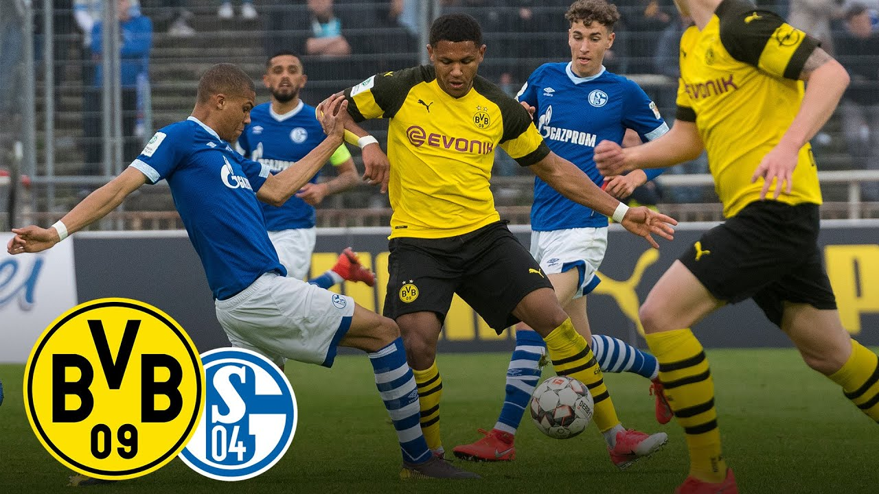 Derby Win For The Final Bvb Vs Fc Schalke 04 2 0 Full Game Under 19 S Semi Final Youtube