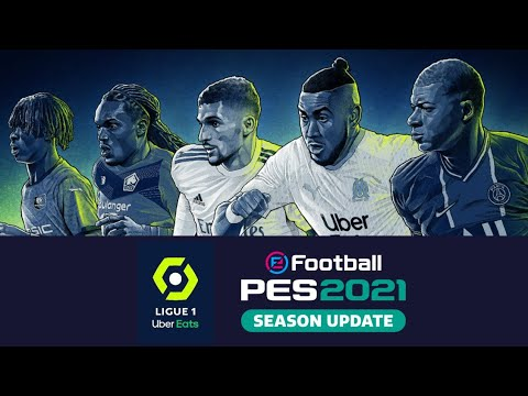 Ligue 1 Uber Eats Teams 2020 21 Lineup Pes 2020 Youtube