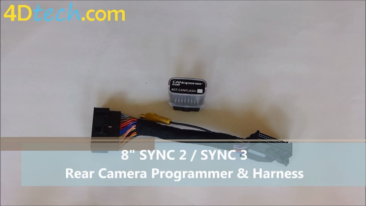 8 Sync 2 3 Backup Rear Camera Programmer And Harness Youtube Wiring F150