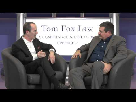 FCPA Compliance & Ethics Report - Maurice Gilbert Interview