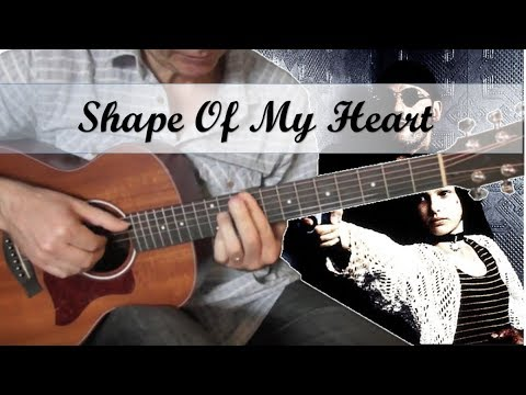 Shape Of My Heart - Sting. -  Guitar Cover