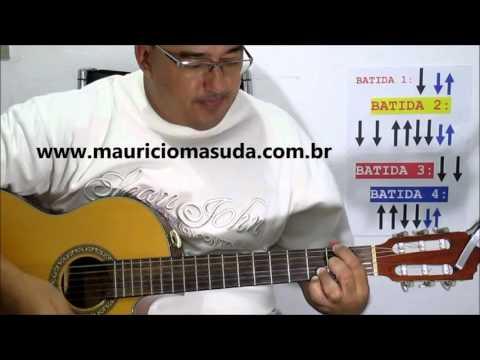 Sozinho - Caetano Veloso ( AULA DE VIOLÃO SIMPLIFICADA ) Prof MAURÍCIO MASUDA |2016
