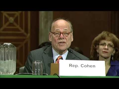 Cohen Introduces TVA Board Nominee Ron Walter to U.S. Senate Committee on Environment & Public Works