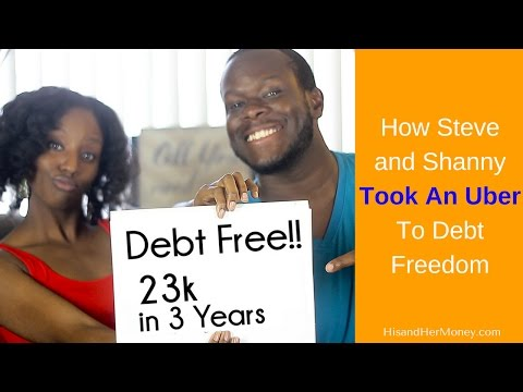 How Steve and Shanny Took An Uber To Debt Freedom