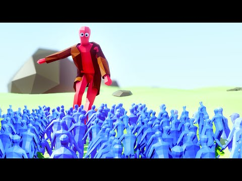 1 GIANT vs. 1.000.000 PEASANTS! (Totally Accurate Battle Simulator)