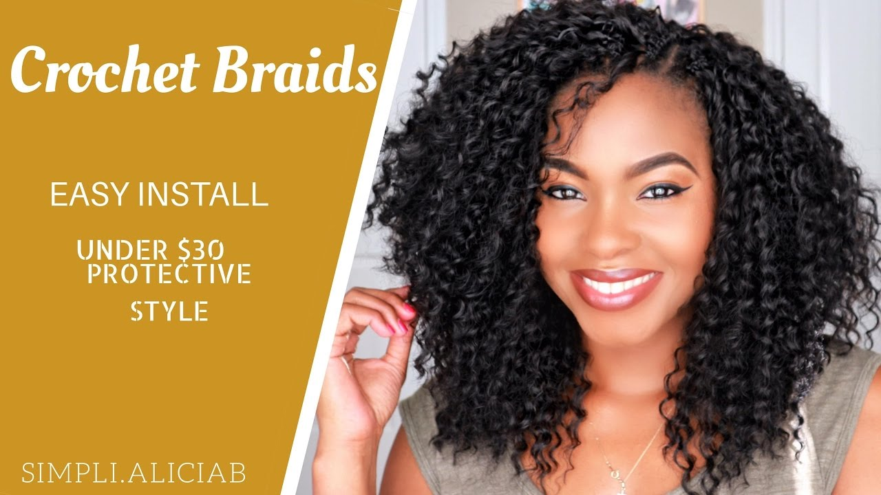 Crochet Braids Easy Install Cut Amp Frame To Face