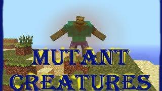 [ModTesting] Mutant Creatures [1.4.6] vom Schneegolem bis zum Enderman Mutanten!