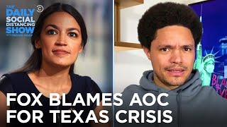 Download lagu GOP & Fox Blame AOC's Green New Deal for the Texas Power Crisis | The Daily Social Distancing Show