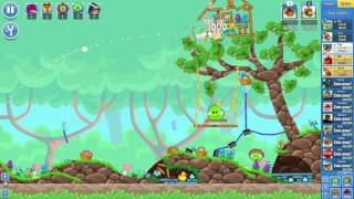 Angry Birds Friends on Facebook Spring Has Sprung Tournament Level 1 No Power Ups 3 Stars April 27