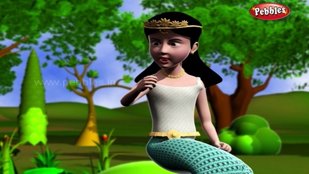 The Frog Prince 3D Story | 3D Fairy Tales in Marathi for Kids | Marathi  Pari Goshti
